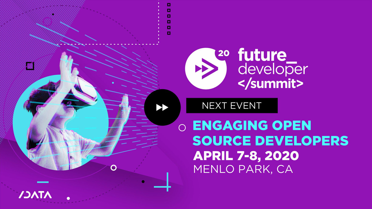 Banner image for the Future Developer Summit 2020